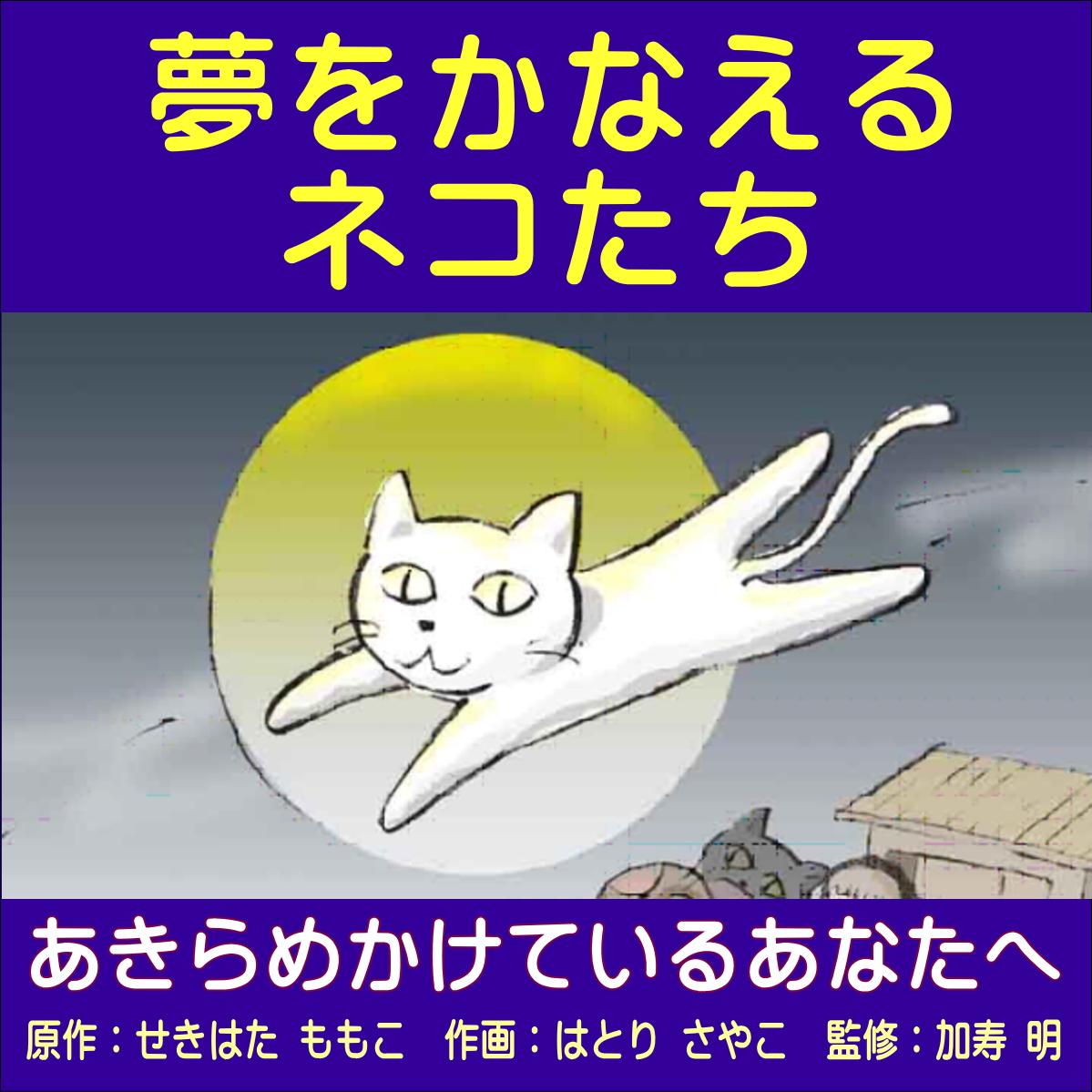 夢をかなえるネコたち表紙
