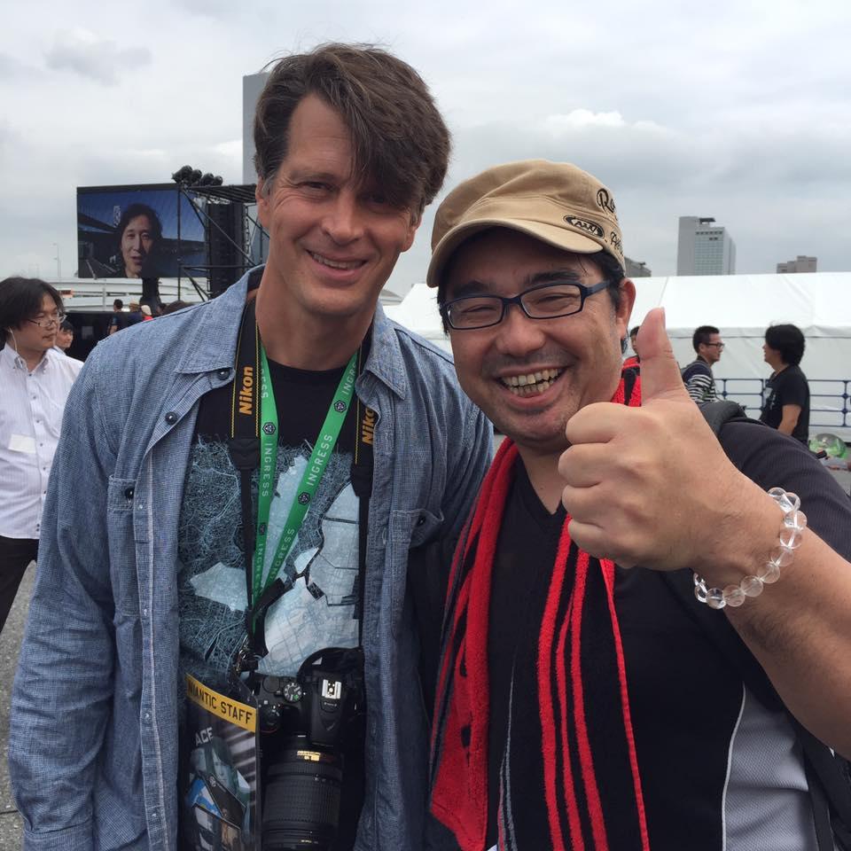 ハンケさんとAEGIS NOVA東京で