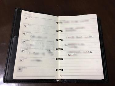 レイメイ藤井のシステム手帳レフィルはスマホ連動